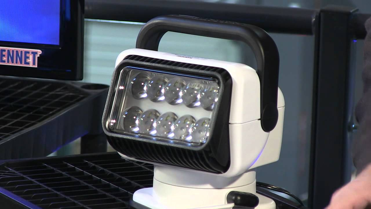 Truck Spot Light >> Golight Radioray Wireless Remote Led Spotlight Youtube