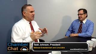 Chamber Chat: Tadd M. Johnson of Midwest Entertainment and Limousine
