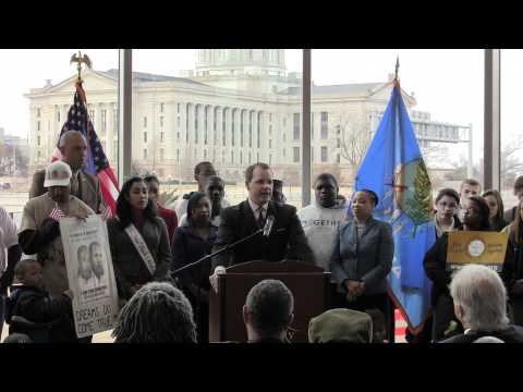 Martin Luther King Day with Oklahoma Lieutenant Governor Todd Lamb 2012
