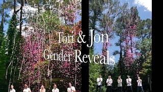 unique confetti streamers cannon gender reveal idea by poof there it is