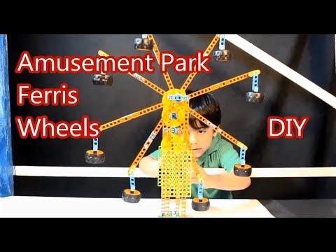 Creative.. Ferris Wheel for Children ... Amusement park DIY #2