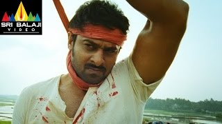 Mirchi Movie Prabhas Interval Fight Scene | Prabhas, Anushka, Richa | Sri Balaji Video