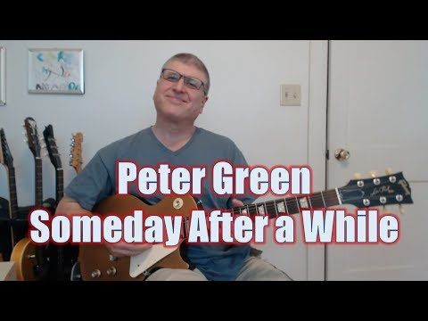 Peter Green Someday After Awhile (with TAB)