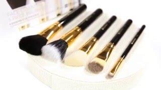 набор кистей для макияжа лица bh cosmetics face essential 5 piece brush set