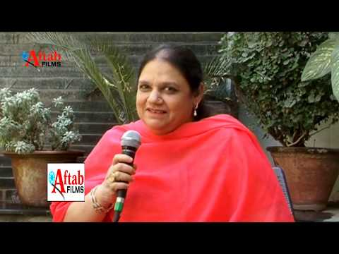 Khalid Ahmed interviewing Saba  Sultanpuri D/O Majrooh Sultanpuri