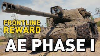 AE Phase I - Frontline Reward REVEALED in World of Tanks!
