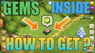 GEMS INSIDE ? HOW TO GET GEMS FROM CLAN GAMES BOX   NEW THINGS OF CLASH OF CLANS UPDATE 2018