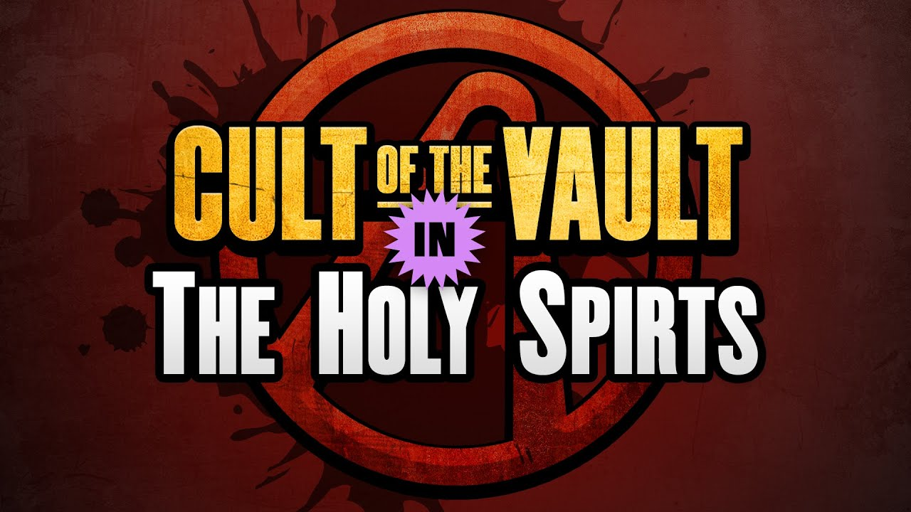 Borderlands 2 Cult Of The Vault Symbols The Holy Spirits Youtube