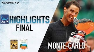 Highlights: Rafael Nadal Wins Historic 10th Monte-Carlo Title