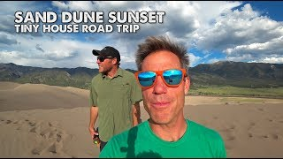 Road Tripping With Zack Giffin's Tiny House-visiting The Great Sand Dunes