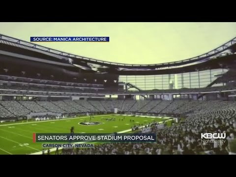 Nevada's State Senators Approve Las Vegas Stadium For Raiders