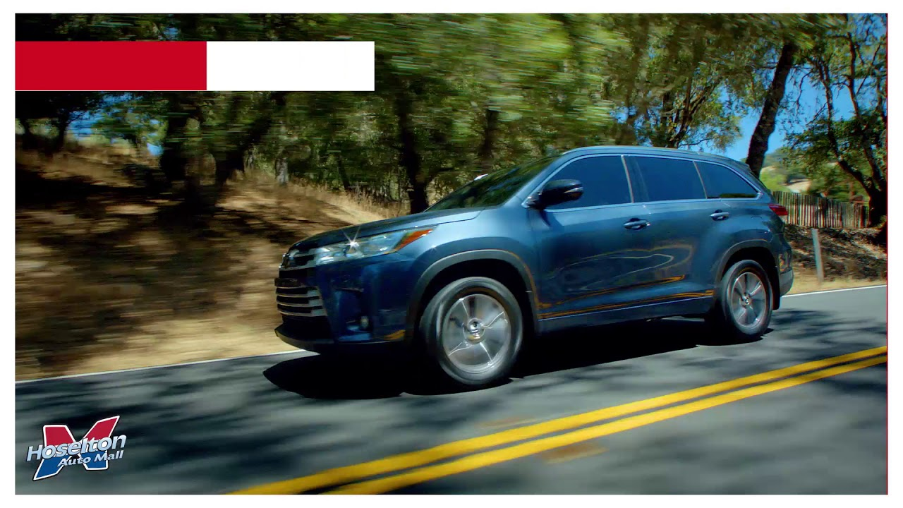 Hoselton Auto Mall >> Looking For A Toyota Suv Choose Hoselton Toyota