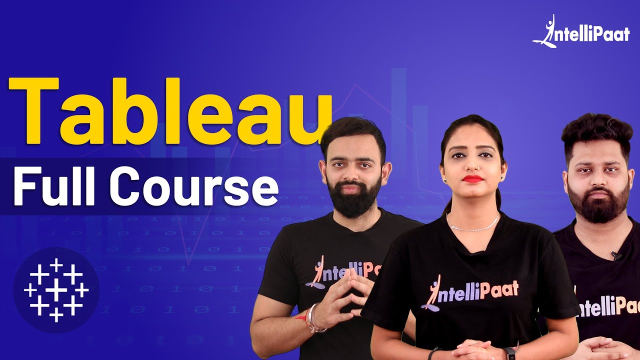Tableau Tutorial | Tableau For Beginners | Tableau Training | Intellipaat