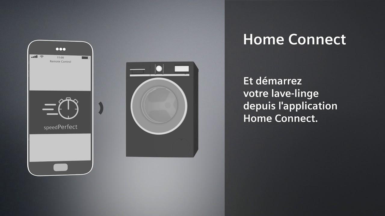 découvrez le contrôle à distance des lave-linges siemens home