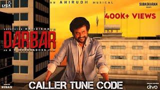 Darbar Caller Tune | Rajinikanth | AR Murugadoss | Anirudh Ravichander | Subaskaran