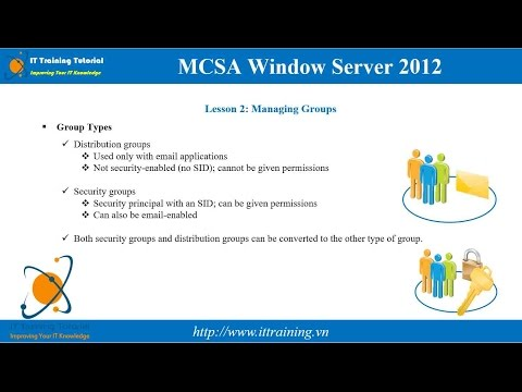 MCSA 2012 Module 3: Managing Active Directory Domain Services Objects