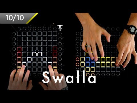 Jason Derulo - Swalla Shaked Remix  Launchpad Project by Golden  Ft Teqqnix