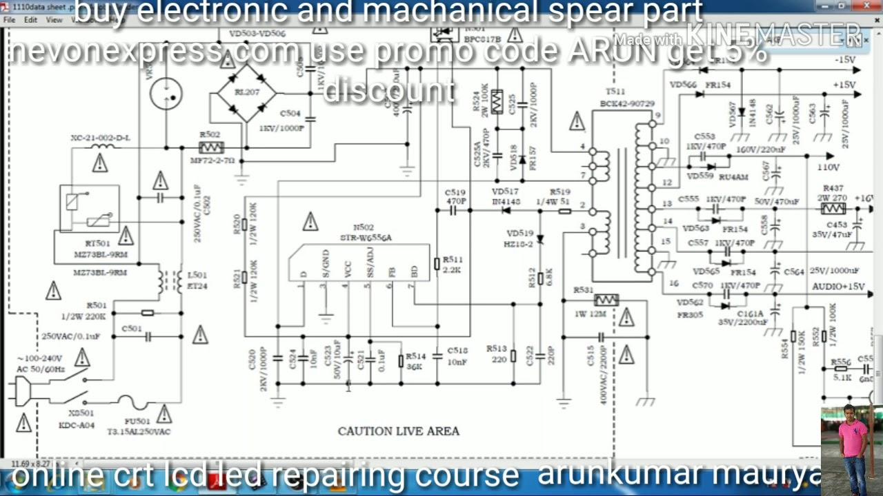 U30aa U30ea U30b8 U30ca U30eb Crt Tv Circuit Diagram