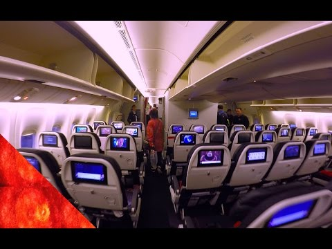 Air France AF254 B777-300ER New Economy Class Singapore to Jakarta 法国航空