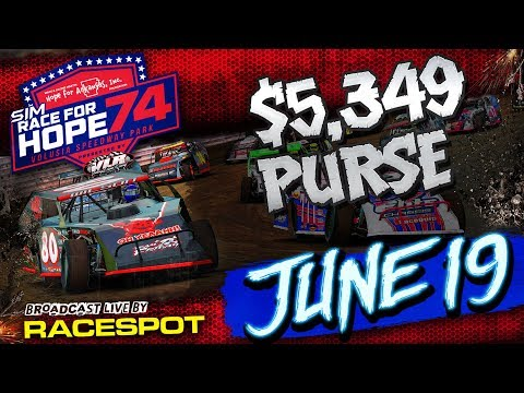 SimRace for Hope at Volusia Speedway Park