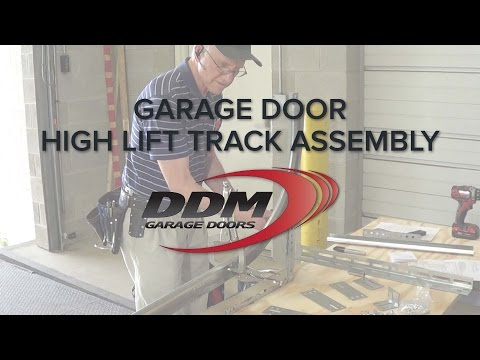 Garage Door High Lift Track Assembly