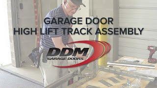 Garage Door High Lift Track Assembly