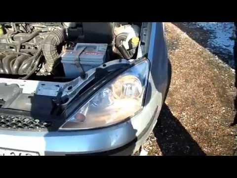 снятие и ремонт фары ford focus 1
