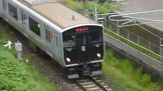 [警笛あり]JR九州817系長崎本線 諫早駅付近通過