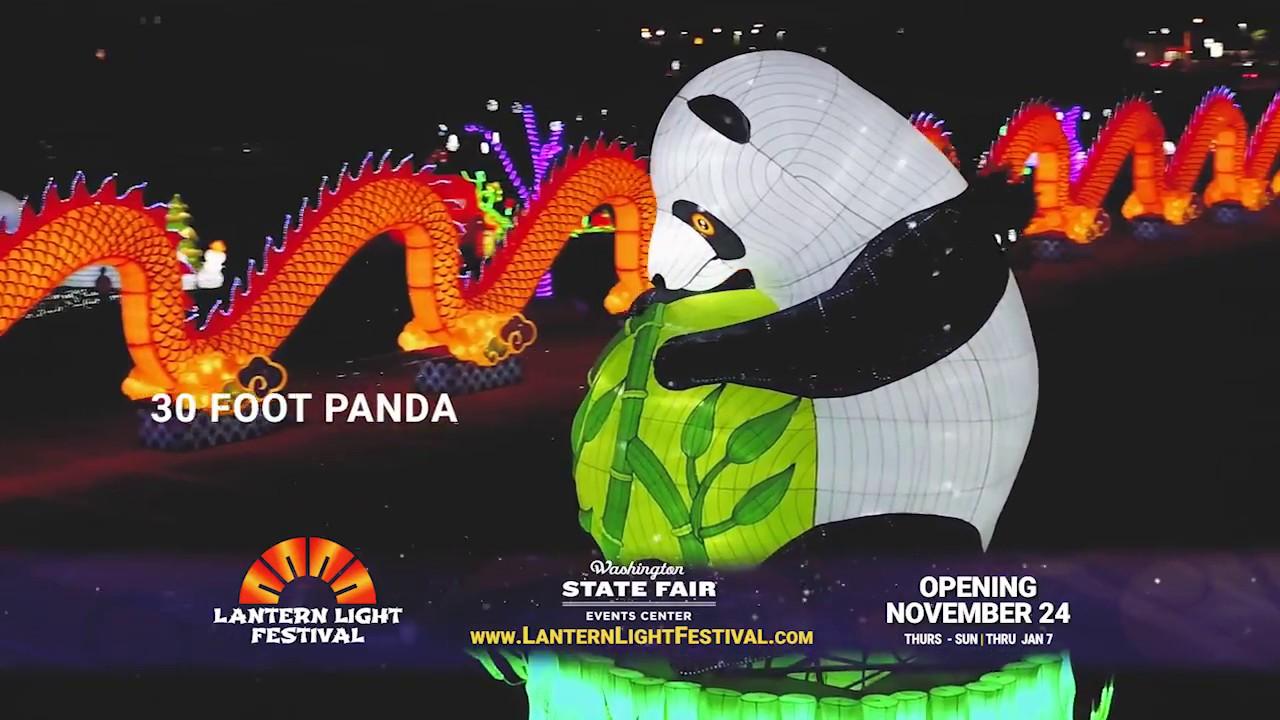 Seattle Lantern Light Festival - YouTube