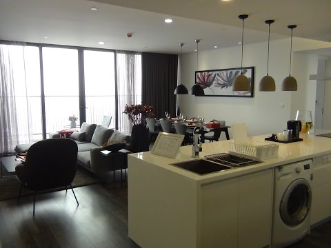 Somerset West Point Hanoi 3Bed151㎡の室内風景