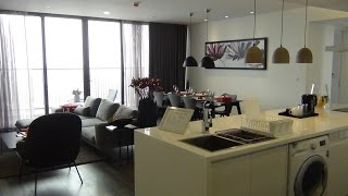 Somerset West Point Hanoi 3Bed(151㎡)の室内風景