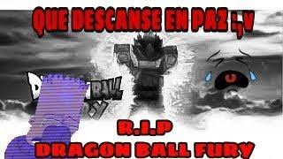 ROBLOX DESCANT IN PAZ DRAGON BALL FURY :,V