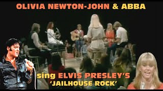 Olivia Newton-John (with Abba) sings Elvis Presley's Jailhouse Rock