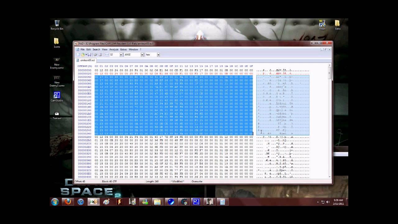 ESL editing tutorial & Enemy Editing tool download |