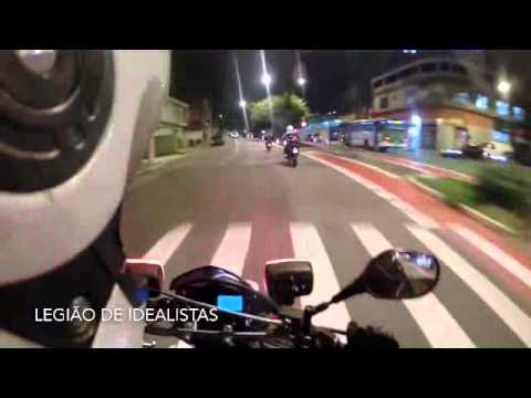 Police Chases - Suspect Motorcycle in São Paulo, Brazil
