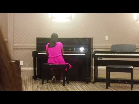 A Whole New World - Piano, Canadian Music League 2017