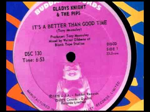 Gladys Knight - Its a Better Than Good Time - Walter Gibbons