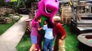 Barney comes to life (Barney I love you (Excellent Exercise!