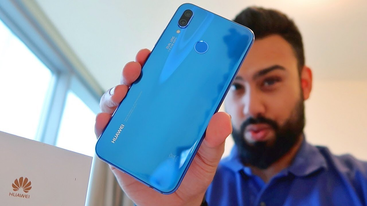 Huawei Nova 3e UNBOXING and FIRST LOOK !!!