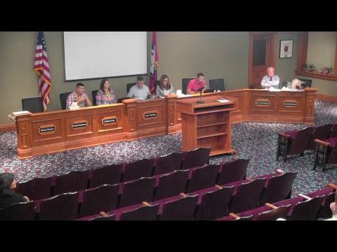Springdale Public Schools | September School Board Meeting