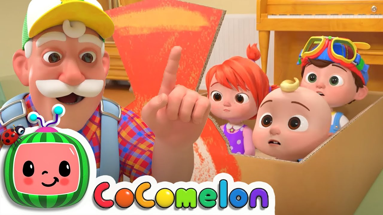 Train Song For Kids - CoComelon Nursery Rhymes & Kids Songs | Best Baby Songs | Moonbug Kids