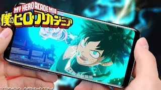New Anime Game! My Hero Academia 我的英雄学院 - Android IOS Gameplay