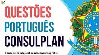 10 Questões de Português CONSULPLAN
