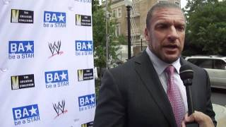 Triple H of the WWE at Be a Star Creative Coalition dinner & screening