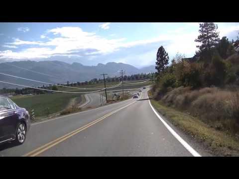 Driving in Kelowna BC Canada - Okanagan Wine Tour - Country/Region - Beautiful British Columbia