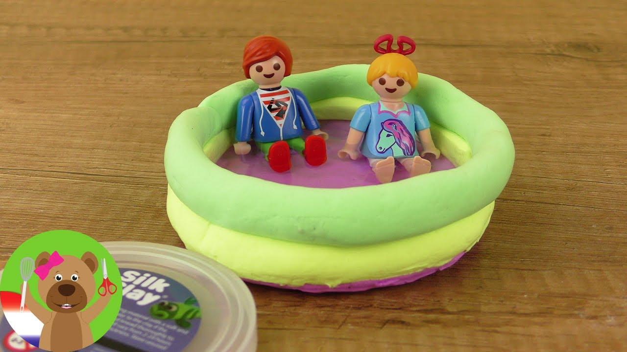 Playmobil zwembad zelf maken voor hannah julian vogel for Zelf zwembad maken