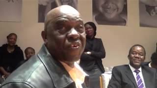 Commissioner Bokankatla Malatji welcomes CEO Tseliso Thipanyane