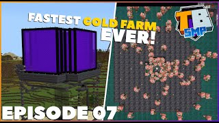 1.16 GOLD FARM is TOO FAST! | Truly Bedrock S2E7