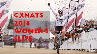 Crosshairs Television | 2018 U.S. Cyclocross Nationals Women's Elite