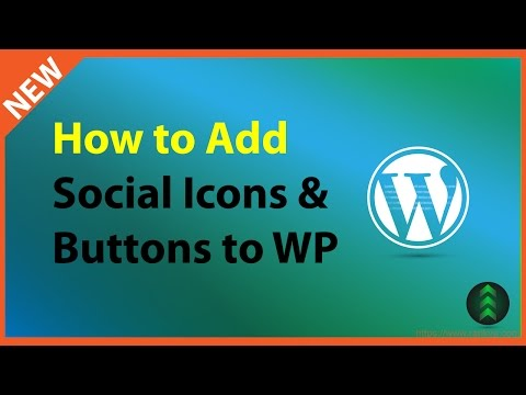 How to Add Social Media Icons and Share Links on WordPress